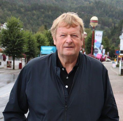 ADVARER: Ludvig Hunsbedt advarer polituikerne mot å la crossklubben i Lyngdal få leie industriområdet Opofte til crossbane. Han mener interessen for området vil komme så snart E39-traseen er fastlagt.