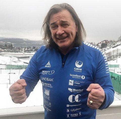 Valter Perisa er i samtaler med Gjøvik HK om å fortsette som trener, og er nok glad for at klubben fortsetter i 2. divisjon nesong.