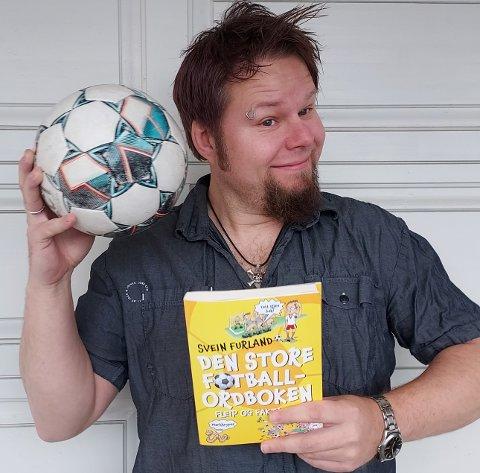 HUMORBOK: Jørn Melnes har illustrert en fotballordbok som ifølge ham skal være morsom enten man liker fotball eller ikke.