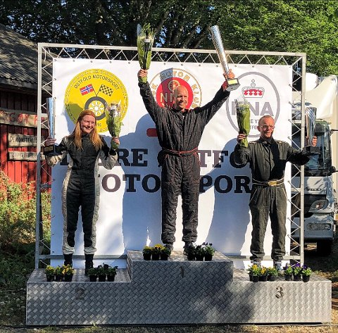 DOBBELTSEIER: Knut Øystein Haaland vant helgens NM-runde, med Helene Hvaal på en sterk andreplass.