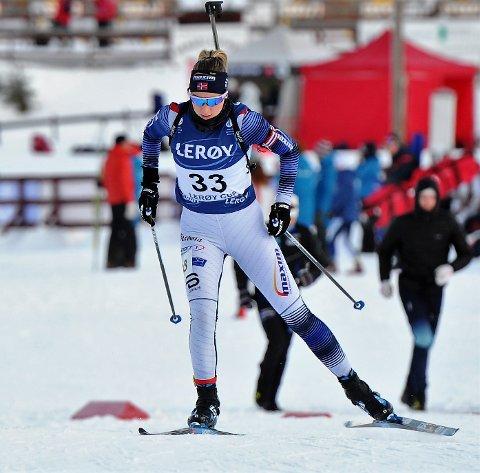 GOD SESONG: Kjersti Kvistad Dengerud er landslagsaktuell etter at hun har vunnet både norgescuprenn og har oppnådd andre sterke resultater.