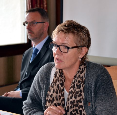 Undertall: Ordfører Toril Grønbrekk og Aps seks representanter stemte imot. De andre partiene ønsket muligheta til direkte ordførervalg.