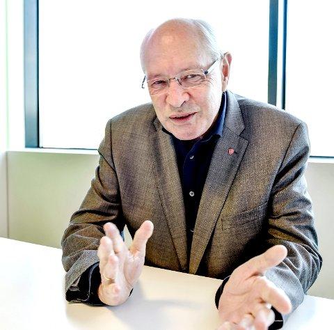 UROLIG: Martin Kolberg synes det er bekymringsfullt at sykehuset ikke får penger i året budsjett.
