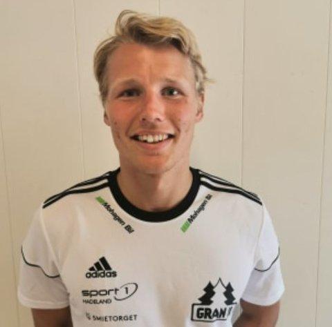 TIL GRAN: Sigurd Svendsen fra Hønefoss er Grans nyeste signering.