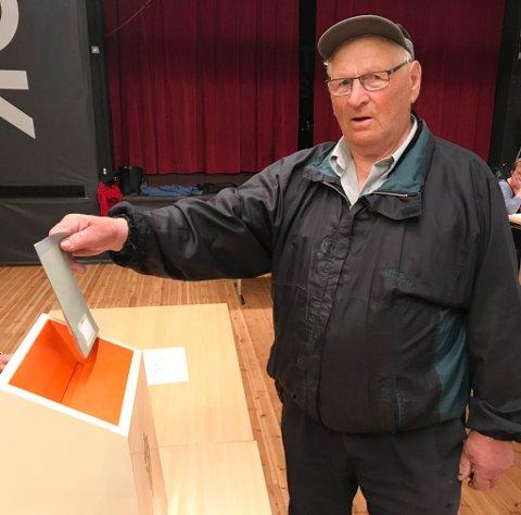 STYRKER FINNMARK: Bjarne Mietinen mener sammenslåing med Troms vil styrke Finnmark. Derfor stemte han ja.