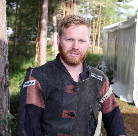 Ørjan Almeland Sjo, Kvinnherad skyttarlag, var treffsikker sist helg. Denne helga er nye sjansar på heimebane.