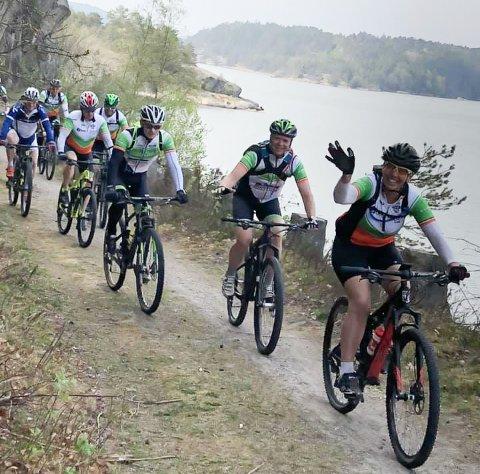 ROLIG TUR: Rakkestad Sykkelklubb inviterer til en rolig og hyggelig søndagstur.