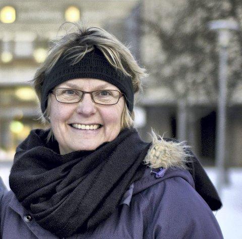 RØYKEN: Hilde Gunn Sletten i Røyken MDG ser fram til at de tre lokalpartiene skal bli til et.