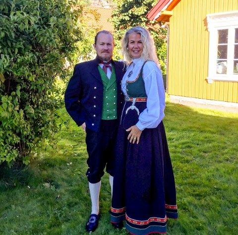 BRYLLUP: Maria Kinnerud Ebbestad og Stian Harald Kristensen skal gifte seg.