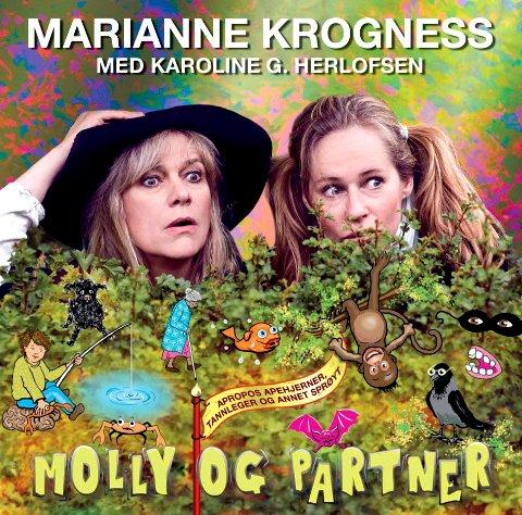 KOMMER: Karoline Gregersen Herlofsen har hun har gitt ut plate med Marianne Krogness.