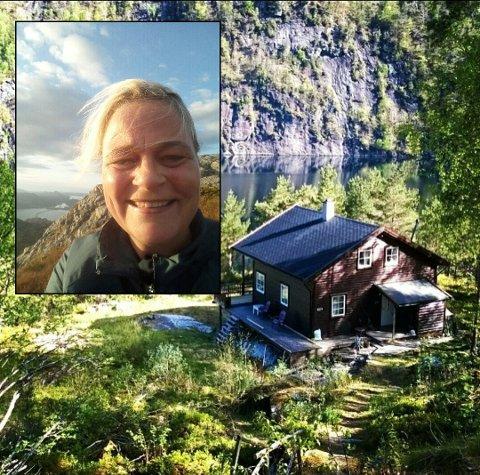 – Vi har hytte like ved, og skulle inn med noko materialer då det raste, fortel Tone L. Markussen.