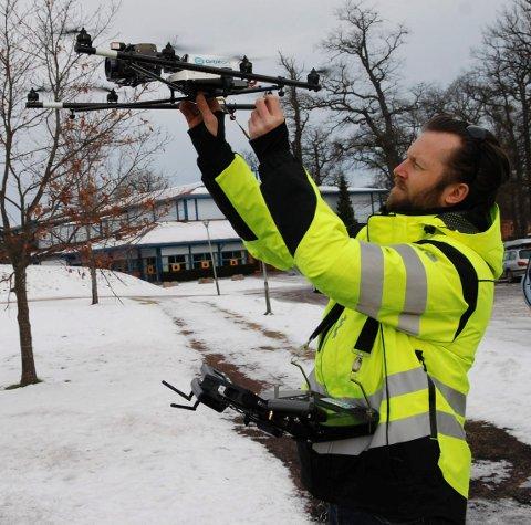 FLYTTET: Selv om Tomas Moss og Orbiton har blitt regnet som et lokalt selskap er det først nå de har vendt ryggen til Hamar og meldt flytting til Forskningsparken på Bakkenteigen.