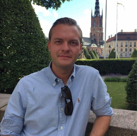 Emil Andre Mokkebost Engh er en av hjernene bak det helt nyetablerte spisestedet på Kongsvinger.