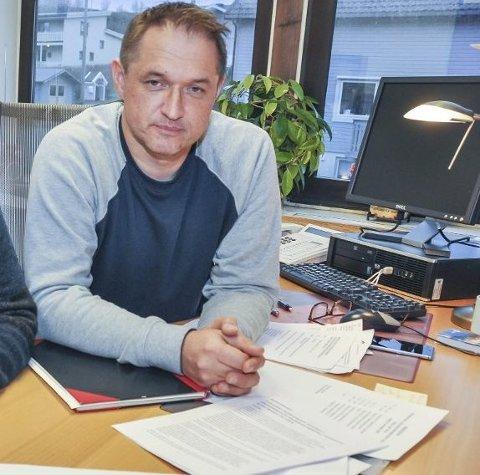 Lokallagsleder John Davy Oddekalv i Utdanningsforbundet i Vestvågøy.