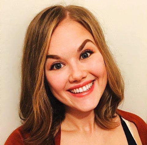 NY TEATERLÆRER: Emilie Evjen Berg er ansatt som ny teaterlærer det neste skoleåret.