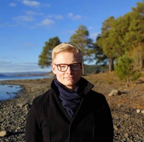 SAMLER INN: Magnus Joakim Myrvang Børresen står for innsamlingsaksjonen på Spleis.no.