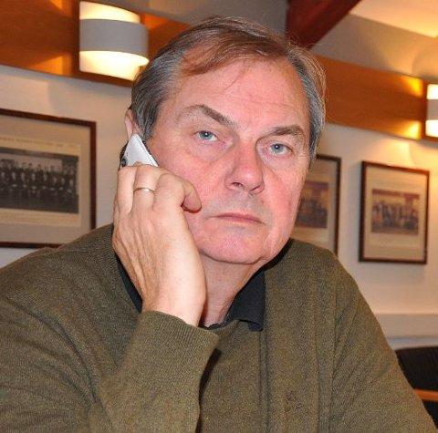 Kasserer Hans Marius Schie sier rideklubben er helt avhengig av flere frivillige for å stå for kiosksalg på 17. mai. Arkivfoto