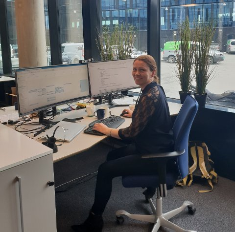 Kristine Wormdal, leder for strømsalg i NTE, sier at de fleste kan følge med spotprisen time for time og spare penger på å planlegge strømforbruket sitt.