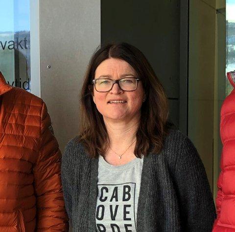 HAR GODE NYHETER: Kommuneoverlege Siw Odden Fosheim (bildet) og kommunedirektør Martin Sæbu.