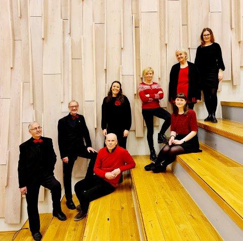 Konsert: Wok synger i Romfo kirke.