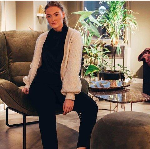 Amine Fjeldberg (18) fra Trosvik er kandidat til å bli neste års Miss Norway.