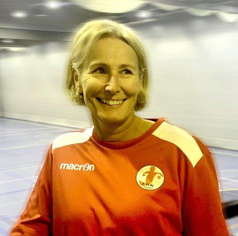 KLAR: Heloen Wernersen blir ny assistent for Eirik Haugdal.