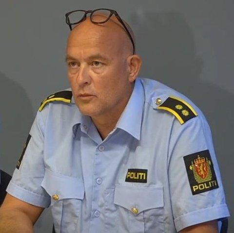 STABSSJEF: Pål Erik Teigen er stabssjef i Innlandet politidistrikt.