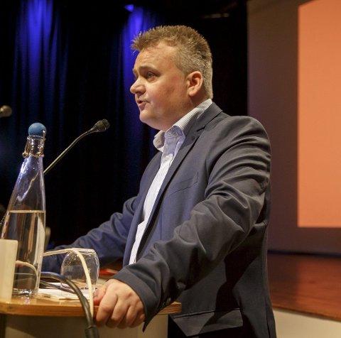 Krav: Fellesforbundet vil sørge for et høyere pensjonsgrunnlag gjennom årets tariffoppgjør, sa leder Jørn Eggum på et seminar for journalister tirsdag. Foto: Heiko Junge / NTB scanpix