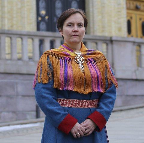 HAR SETT ØRNA PÅ DAGSORDEN: Reineier Nancy Porsanger Anti har satt forvaltning av ørn på dagsorden.
