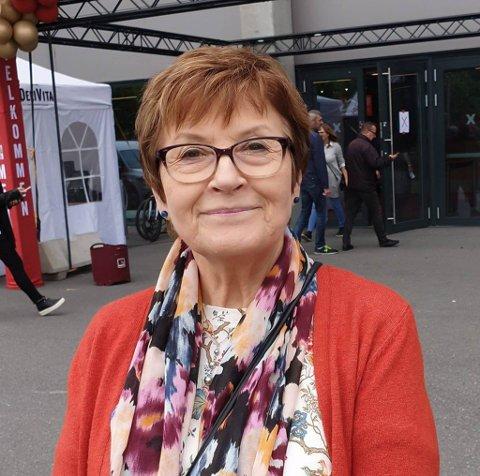 BILULYKKE: Liv Ellinor Hammer fra Tana var involvert i en bilulykke sist tirsdag. Heldigvis gikk det bra med henne.