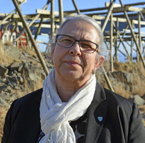 Moskenesordfører Lillian Rasmussen (Bygdelista).