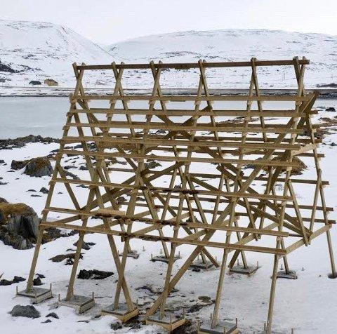 LAVT BELEGG: Det er særdeles langt mellom gjestene i det nye fuglehotellet i ytre havn i Berlevåg.