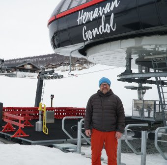 Toni Franz er ny direktør for Hemavan Alpint BA.