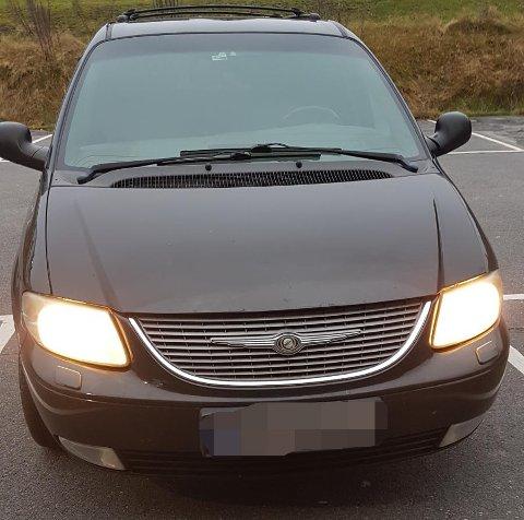 SVINDLET: Det var i forbindelse med salget av denne bilen at mannen fra Romerike ikke har mottatt alle pengene han skulle ha.