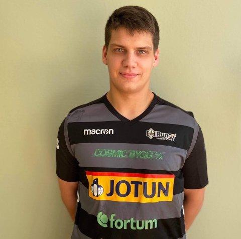 FORSVARSBAUTA: Tobias Balsby håper han kan bli en viktig brikke i forsvarsmuren Runar savnet forrige sesong.