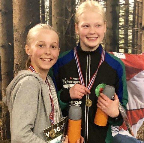 Ingrid Pedersen Holmskau og Marte Lillegraven Langsæter