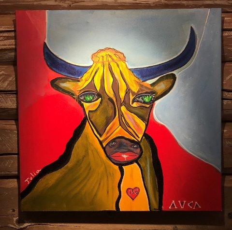 Utstillingen i år er ved italienske Luca Antinori Stellini med sine kraftfulle og fargerike malerier.