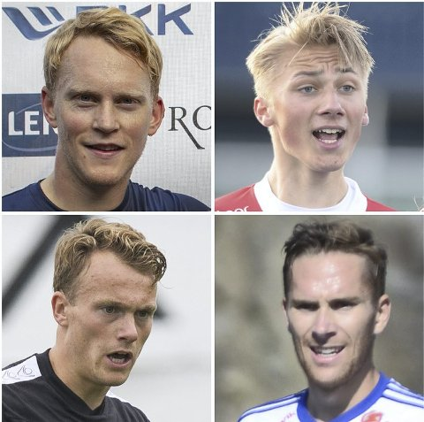 Mathias Macody Lund (øverst, fra vensre), Fabian Rimestad, Nikolai Harris og Rune Mo.