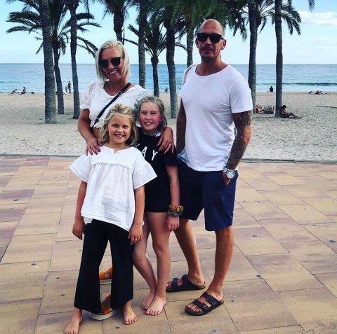 FLYTTET: Familien Granholt har opplevd store deler av Spania det siste halvåret. - Vi er glad for at vi turte dette, forteller mamma Marita.
