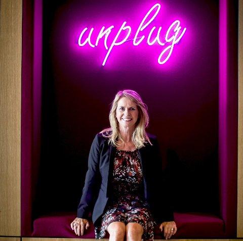 Ellen Arnstad blir sjef for det nye X Meeting Point på Hellerudsletta.  Foto: Lisbeth Lund Andresen