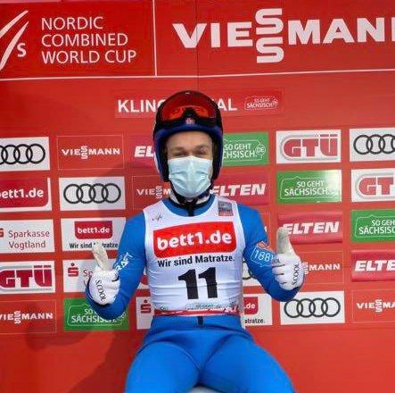 KARRIERE BESTE: Leif Torbjørn Næsvold, Røykenhopp var fornøyd med søndagens resultater.