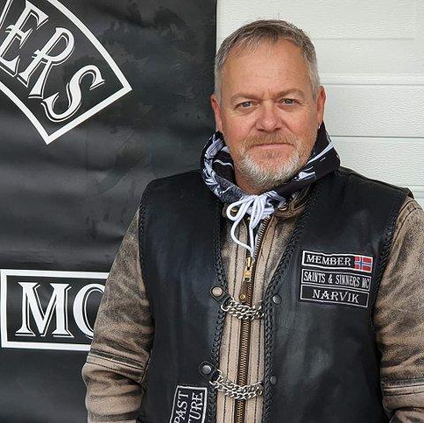 LEDER: Kjell Ivar Berg er leder av supporterklubben Ørneskriket.