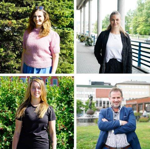 Susanne Mikaelsen, Jannike Erlind, Iselin Davidsen Skaanevik og Terje Danielsen er fire av dem som skal være ambassadører for Narvik.
