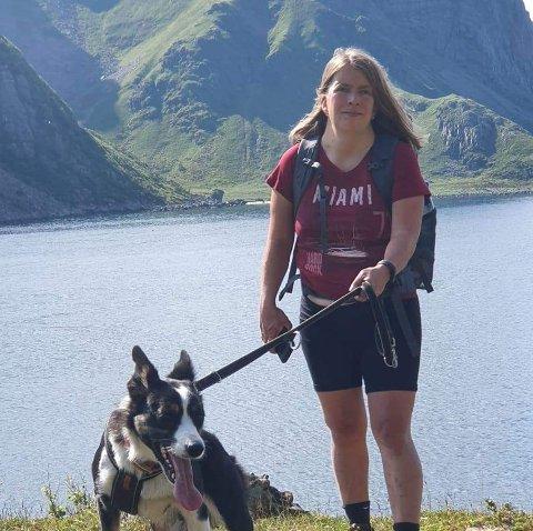 Christiane Thömmes trives best på tur med hundene i norsk natur.