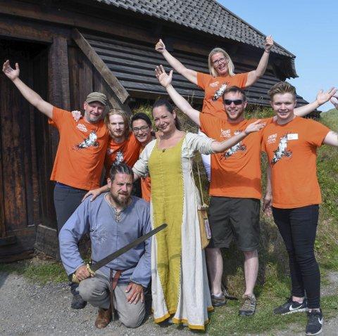 KLARE FOR FESTIVAL: Lofoten Vikinglag og Lofotr Vikingmuseum går i samarbeid under Vikingfestivalen 9.–13. august. ALLE FOTO: Karianne Steen