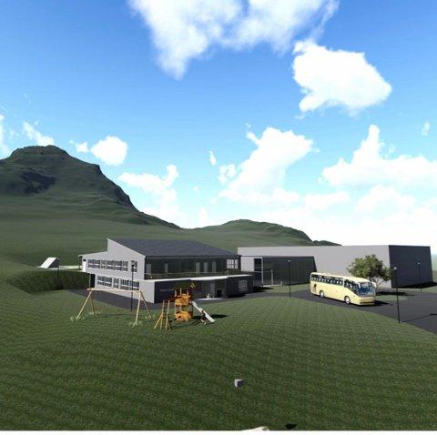 NY SKOLE: Guds Menighet jobber med planer om nytt skolebygg på Nappskaret.