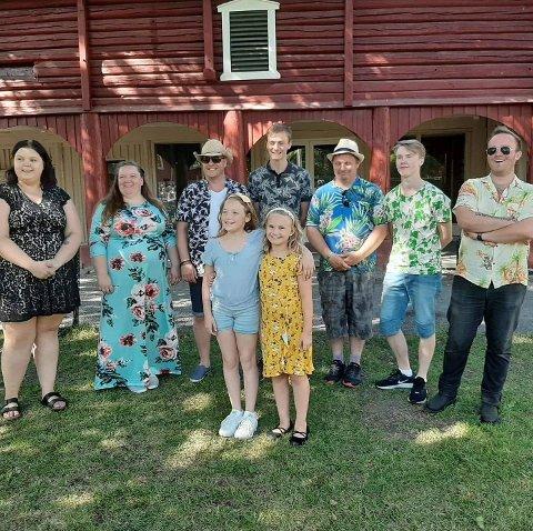 Sielinjas unge talenter fra Toner på tunet, sommeren 2019
