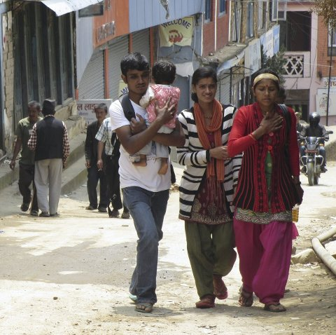 Imponerte: Nepaleserne imponerte Mühlbradt. – Selv med store skader klaget de ikke, sier hun.