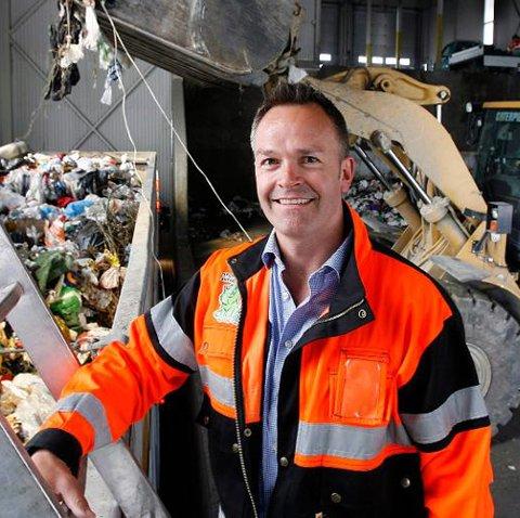 Administrerende direktør, Øivind Brevik mener tallene fra Miljødirektoratet er feil. Her fra en tidligere anledning. Foto: Kay Stenshjemmet