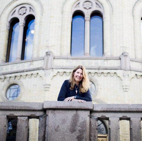 Blå valgseier gir Turid Kristensen (H) fast plass på Stortinget.  Foto: Lisbeth Lund Andresen